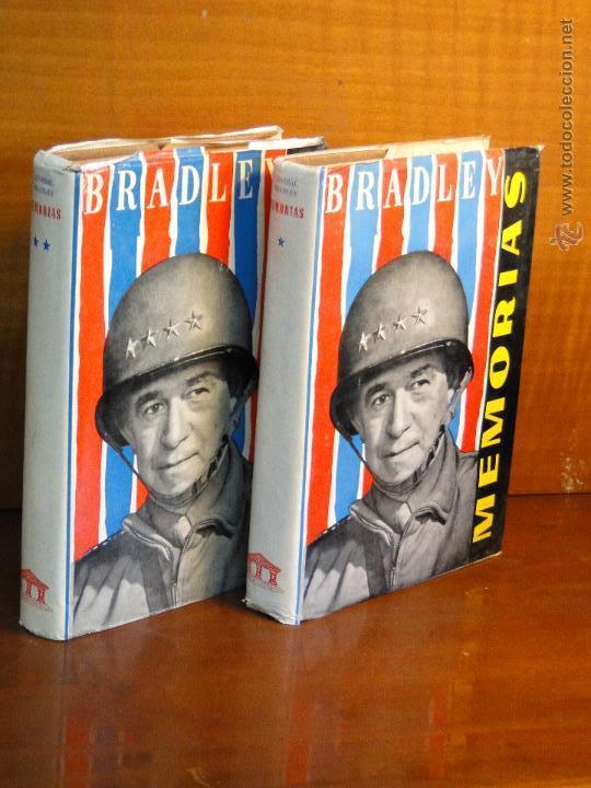 OMAR N. BRADLEY.--MEMORIAS (2 TOMOS. OBRA COMPLETA) (Libros de Segunda Mano - Historia - Segunda Guerra Mundial)