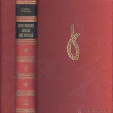 Gebrauchte Bücher - Eugene Davidson. Nuremberg, juicio histórico. Barcelona, 1972. IIGM - 54987747