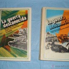 Libros de segunda mano: LA GUERRA DESCONOCIDA- TOMOS 1 Y 2- GLADKOV-ANTOSIAK- EDICIONES LIBRERÍA DEL PROFESIONAL. Lote 55020476