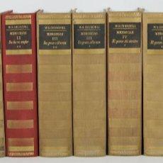 Libros de segunda mano: 7294 - LOS LIBROS DE NUESTRO TIEMPO. 10 TOMOS(VER DESCRIP). W. CHURCHILL.1949-1951.. Lote 55113739