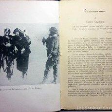 Libros de segunda mano: HOLMAN: LOS COMANDOS ATACAN. (1943). (2ª GUERRA MUNDIAL: COMANDOS DE LA R.A.F. FORMACIÓN.... Lote 55356557