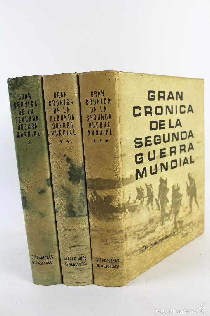 L-5752. GRAN CRONICA DE LA SEGUNDA GUERRA MUNDIAL. SELECCIONES READER'S DIGEST 1965. (Libros de Segunda Mano - Historia - Segunda Guerra Mundial)