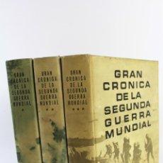 Libros de segunda mano: L-5752. GRAN CRONICA DE LA SEGUNDA GUERRA MUNDIAL. SELECCIONES READER'S DIGEST 1965.. Lote 55833981