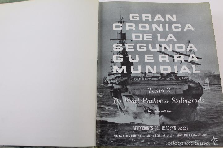 Libros de segunda mano: L-5752. GRAN CRONICA DE LA SEGUNDA GUERRA MUNDIAL. SELECCIONES READERS DIGEST 1965. - Foto 7 - 55833981
