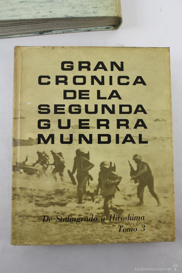 Libros de segunda mano: L-5752. GRAN CRONICA DE LA SEGUNDA GUERRA MUNDIAL. SELECCIONES READERS DIGEST 1965. - Foto 9 - 55833981