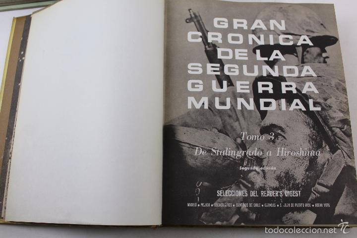 Libros de segunda mano: L-5752. GRAN CRONICA DE LA SEGUNDA GUERRA MUNDIAL. SELECCIONES READERS DIGEST 1965. - Foto 10 - 55833981