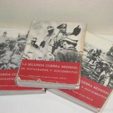 Libros de segunda mano: LA SEGUNDA GUERRA MUNDIAL EN FOTOGRAFIAS Y DOCUMENTOS . Lote 56960413