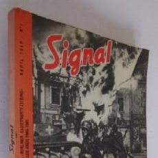 Libros de segunda mano: SIGNAL - Nº 1 ABRIL 1940. Lote 56983709
