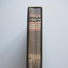 Libros de segunda mano: BERLIN DIARY - WILLIAM L. SHIRER - THE AMERICAN PAST BOOK OF THE MONTH CLUB - NEW YORK (1987). Lote 57650027