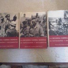 Libros de segunda mano: LA SEGUNDA GUERRA MUNDIAL EN FOTOGRAFÍAS Y DOCUMENTOS. Lote 57677099