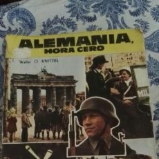 Libros de segunda mano: ALEMANIA, HORA CERO - (ALLEMAGNE, HEURE ZÉRO) - WALTER O. KNITTEL - TORAY - 1956 APROX. 1ª EDICIÓN. Lote 57713149
