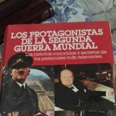 Libros de segunda mano: LOS PROTAGONISTAS DE LA SEGUNDA GUERRA MUNDIAL. EDITA SARPE. 1980.. Lote 57737468