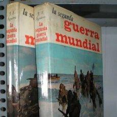Libros de segunda mano: AGUIRRE, JOSÉ FERNANDO: LA SEGUNDA GUERRA MUNDIAL. 2 VOLS. . Lote 57910931