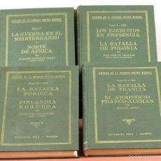 Libros de segunda mano: 7822 - HISTORIA DE LA SEGUNDA GUERRA MUNDIAL. 4 TOMOS(VER DESCRIP). EDIT. IDEA. 1941-44.. Lote 58143602