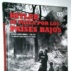 Libros de segunda mano: HITLER SE PASEA POR LOS PAÍSES BAJOS 1940 POR LOSADA Y PERMUY DE BIBLIOTECA EL MUNDO EN MADRID 2009. Lote 59007595
