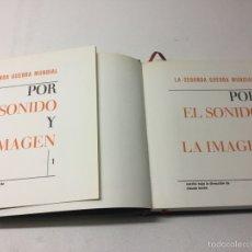 Libros de segunda mano: LA SEGUNDA GUERRA MUNDIAL. POR EL SONIDO Y LA IMAGEN. Lote 59173471