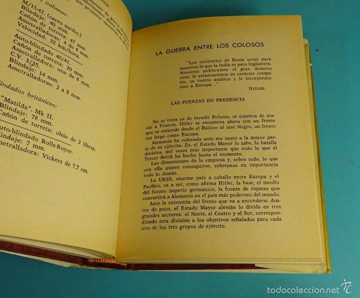 Libros de segunda mano: HISTORIA DE LA II GUERRA MUNDIAL. KARL VON VEREITER. DOS VOLÚMENES - Foto 3 - 59744860