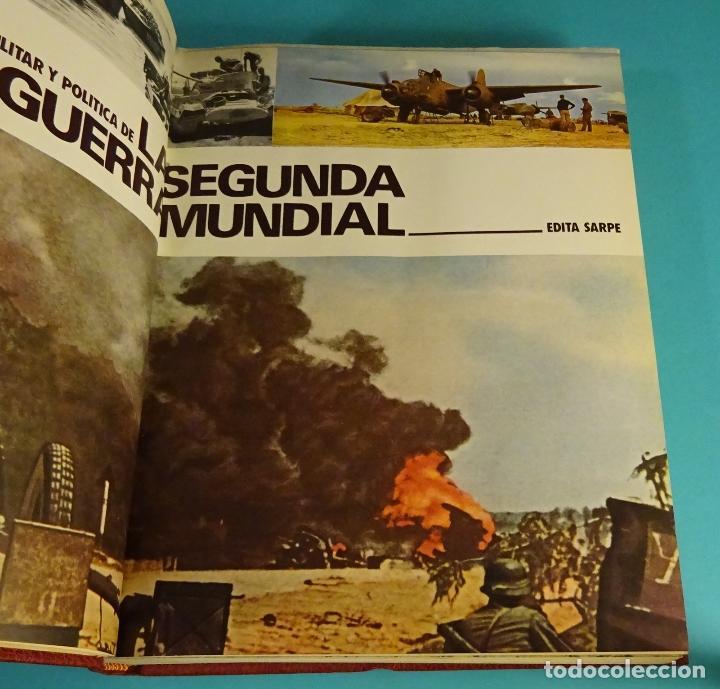 Libros de segunda mano: CRÓNICA MILITAR Y POLÍTICA DE LA SEGUNDA GUERRA MUNDIAL. VOLUMEN 2. EDITORIAL SARPE - Foto 2 - 64675071