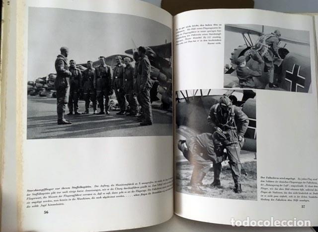 Libros de segunda mano: Die Deutsche Luftwaffe. (La aviación alemana. Berlín, 1940) 2ª Guerra Mundial (Nazismo - Foto 3 - 64773707