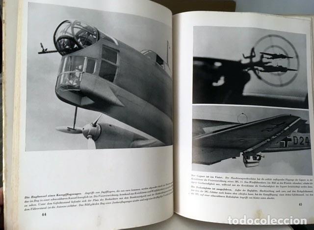 Libros de segunda mano: Die Deutsche Luftwaffe. (La aviación alemana. Berlín, 1940) 2ª Guerra Mundial (Nazismo - Foto 4 - 64773707
