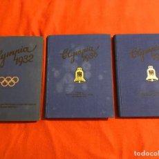Libros de segunda mano: ALBUMES DE CROMOS,OLYMPIA 1932 Y 1936, TERCER REICH, FUHRER ADOLF HITLER,NAZI. Lote 69532289