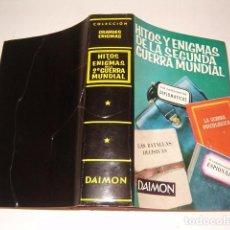 Libros de segunda mano: VV.AA. HITOS Y ENIGMAS DE LA SEGUNDA GUERRA MUNDIAL. RMT78208. . Lote 71244067