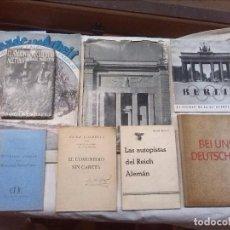 Libros de segunda mano: LA ALEMANIA NAZI - 8 LIBROS + INSIGNIA. Lote 74135919