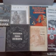 Libros de segunda mano: LOTE II GUERRA MUNDIAL - VARIAS PUBLICACIONES. Lote 77083881