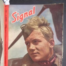 Libros de segunda mano: AÑO 1944 TOMO REVISTA SIGNAL - PORTADAS A COLOR - MAGAZINE. Lote 81982436