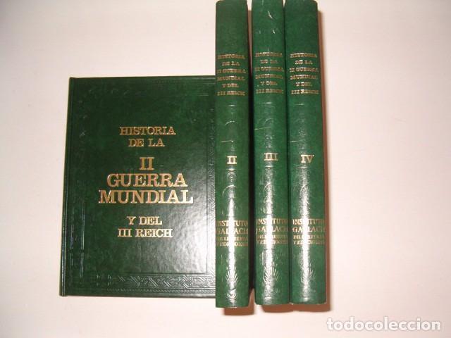 WILLIAM L. SHIRER. HISTORIA DE LA II GUERRA MUNDIAL Y DEL III REICH. CUATRO TOMOS. RMT79706. (Libros de Segunda Mano - Historia - Segunda Guerra Mundial)