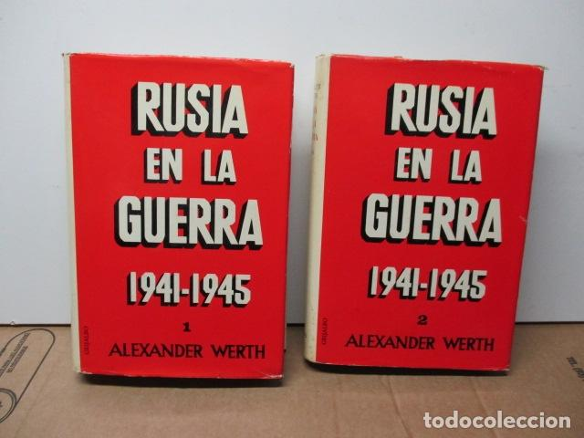 RUSIA EN LA GUERRA 1941-1945. 2 TOMOS. WERTH. GRIJALBO (Libros de Segunda Mano - Historia - Segunda Guerra Mundial)