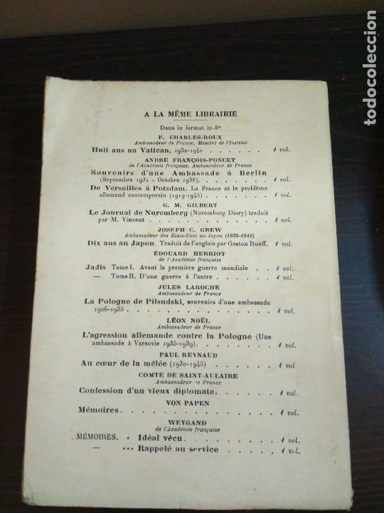 Libros de segunda mano: ADOLF HITLER.LIBRES PROPOS SUR LA GUERRE ET LA PAIX RECUEILLIS SUR LORDRE DE MARTIN BORMANN 1952 - Foto 6 - 82898696