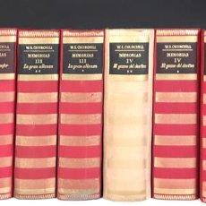 Libros de segunda mano: LOS LIBROS DE NUESTRO TIEMPO. MEMORIAS. 12 TOMOS(VER DESCRIP). IMP. C. PUIG. 1949/1955.. Lote 83404132