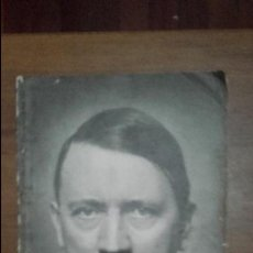 Libros de segunda mano: REVISTA NAZI ADOLF HITLER EIN MANN UND SEIN VOLK. GRANDES DIMENSIONES. . Lote 84662580