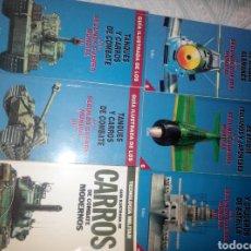 Libros de segunda mano: GUIA ILUSTRADA TANQUES,AVIONES,ACORAZADOS. Lote 84865644