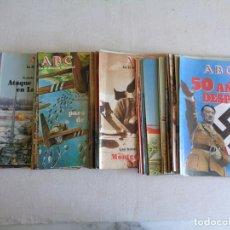 Libros de segunda mano: NOVENTA Y NUEVE FASCICULOS ABC. LA II GUERRA MUNDIAL.. Lote 85366164