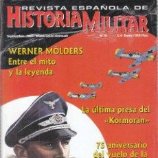 Libros de segunda mano: REVISTA ESPAÑOLA DE HISTORIA MILITAR Nº 15 DE SEPTIEMBRE DE 2001, SIN DESPRECINTAR (NUEVA). Lote 87502792