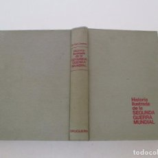 Libros de segunda mano: DR. KURT ZENTNER. HISTORIA ILUSTRADA DE LA SEGUNDA GUERRA MUNDIAL. RMT81405. . Lote 89297464