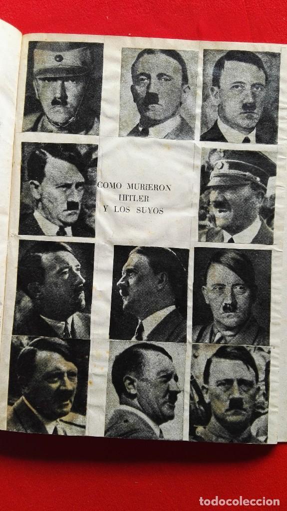 COMO MURIERON HITLER Y LOS SUYOS - KARL ZHEIGER- ED. RODEGAR 1963 (Libros de Segunda Mano - Historia - Segunda Guerra Mundial)