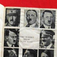 Libros de segunda mano: COMO MURIERON HITLER Y LOS SUYOS - KARL ZHEIGER- ED. RODEGAR 1963. Lote 89905324