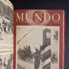 Libros de segunda mano: AÑO 1941 REVISTA MUNDO EL SIGNAL ESPAÑOL - DIVISION AZUL. Lote 90706220