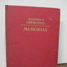 Libros de segunda mano: W.S. CHURCHILL: MEMORIAS II - SU HORA MEJOR - , 1ª ED.1949 J.JANÉS, 224 FOTOGRABADOS Y 2 MAPAS . Lote 91344740