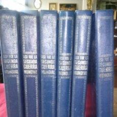 Libros de segunda mano: ASI FUE LA SEGUNDA GUERRA MUNDIAL, 6 TOMOS.. Lote 92453062