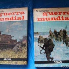 Libros de segunda mano: LA SEGUNDA GUERRA MUNDIAL, JOSE FERNANDO AGUIRRE, 2 TOMOS, EDITORIAL ARGOS 1969. Lote 94056505