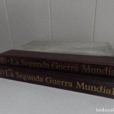 Libros de segunda mano: LA SEGUNDA GUERRA MUNDIAL - LOS DOS TOMOS - EDITORIAL ARGOS - BARCELONA 1964. Lote 94966575
