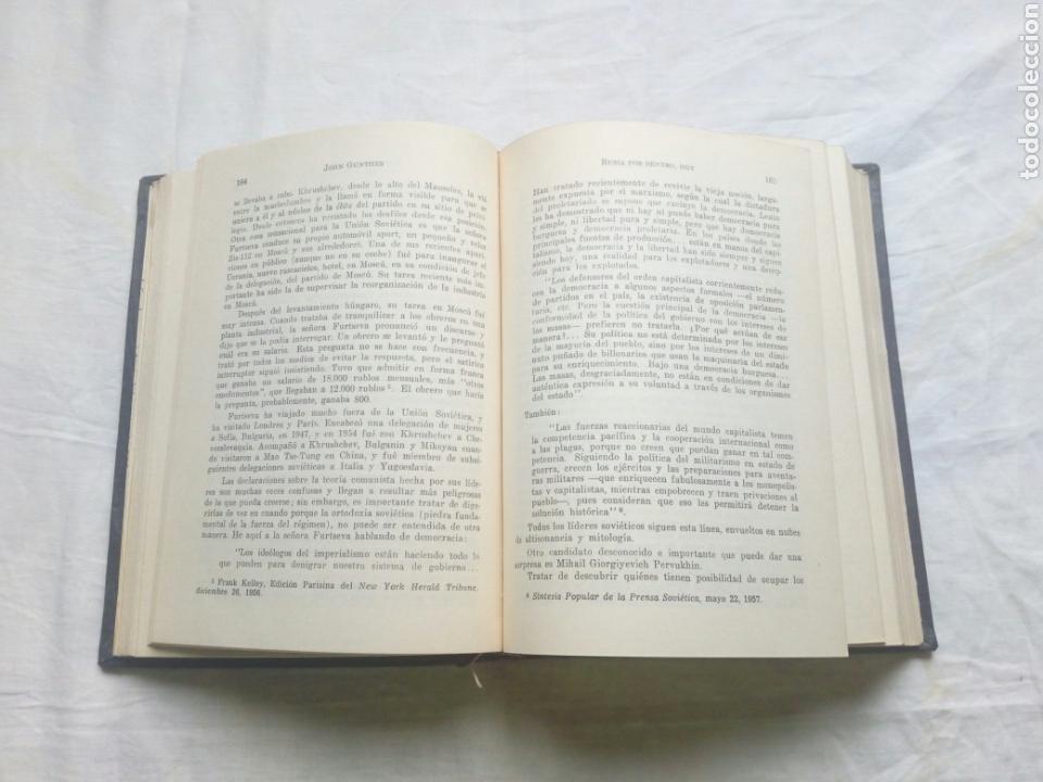 Libros de segunda mano: Libro Rusia por dentro hoy. Union soviética. URSS.Lenin. Stalin. Guerra mundial. Guerra fria.falange - Foto 2 - 95858418