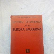 Libros de segunda mano: LIBRO HISTORIA ECONOMICA DE LA EUROPA MODERNA. SEGUNDA GUERRA MUNDIAL. GUERRA FRIA. GUERRA CIVIL. FR. Lote 95858562