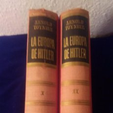 Libros de segunda mano: LA EUROPA DE HITLER TOMO I Y II. Lote 97198103