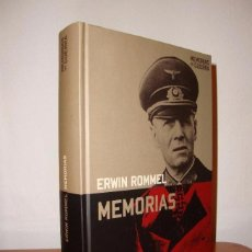 Libros de segunda mano: MEMORIAS - ERWIN ROMMEL - ED. ALTAYA 2008. Lote 97421059