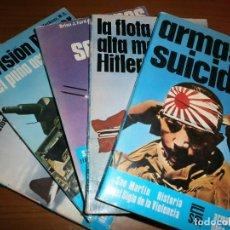 Libros de segunda mano: SAN MARTIN. HISTORIA DEL SIGLO DE LA VIOLENCIA - ARMAS - SERIE AZUL - Nº 6, 7, 8, 16, 20 - AÑOS 70.. Lote 98398903